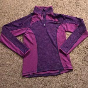 L.L. Bean girls athletic shirt. Size M 10-12